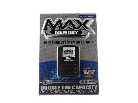 Mc Ps2 16mb Memory Card Ps2 16mb ps2 max memory 16mb memory card