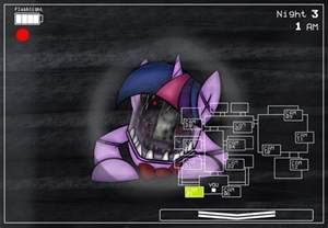 Five nights at freddy 2 my little pony twilight by ad laimi on