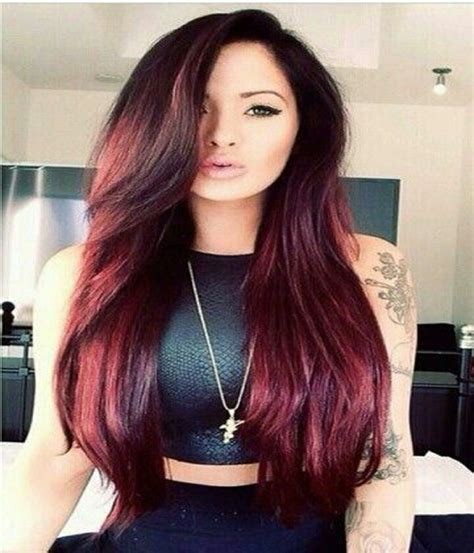red hairstyles 2015 long red color hairstyle 2014 2015 zquotes
