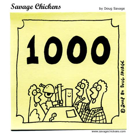 1000 images about today s 1000th savage chickens on