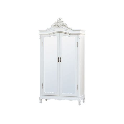 white armoire with mirrored door pure white armoire wardrobe with full mirror doors forever furnishings fine