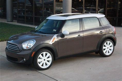 Mini Cooper Vehicle Check Light Mini Cooper Countryman In Light Coffee White Roof And