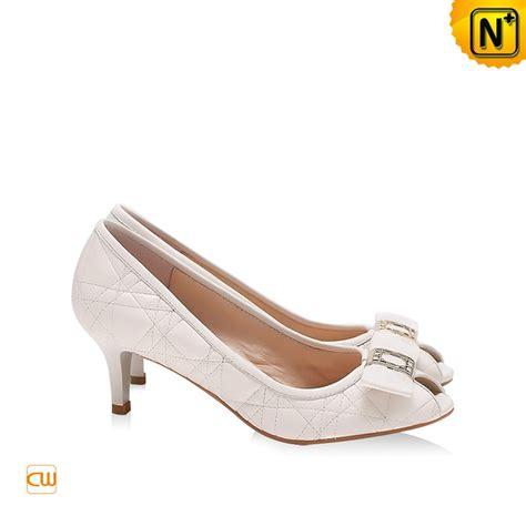 white pumps shoes designer open toe pumps leather shoes cw304018 cwmalls
