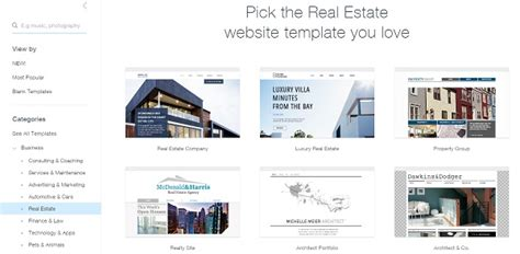 The Best Website Builders To Create A Real Estate Website Best Real Estate Website Templates