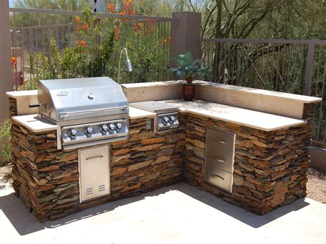 Outdoor Bbq Kitchen Ideas by Outdoor Barbeque Islands Ideas Kitchentoday