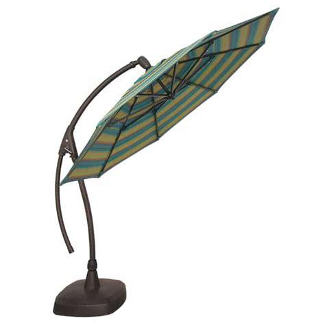 11ft patio umbrella 11ft ag28 cantilevered umbrella