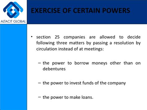 what is section 25 company section 25 companies