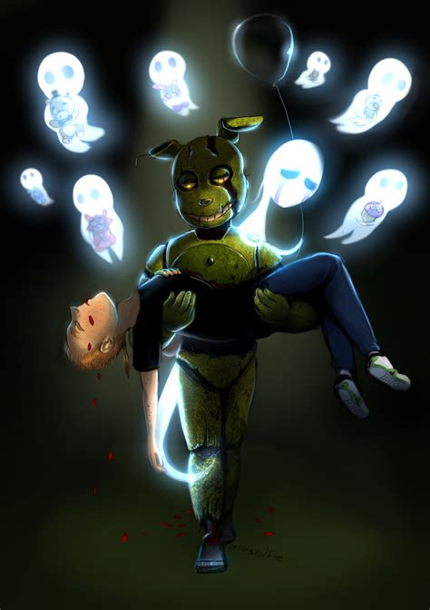 painting fnaf fnaf you can t go back contest entry by atlas white on