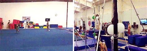 yurchenko double layout straddle jumps tumblr