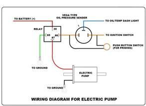 help electric fuel pump wiring