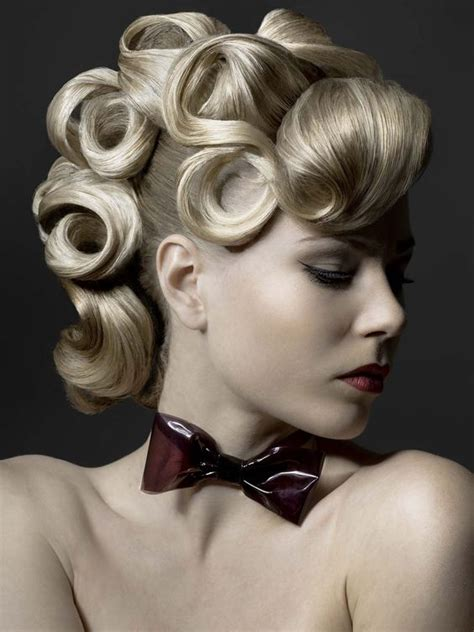 avant garde hairstyles history beautiful updo and fringes on pinterest