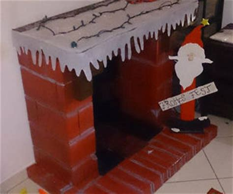 How To Make A Chimney Out Of Paper - 12 tutorials to make a cardboard fireplace guide patterns