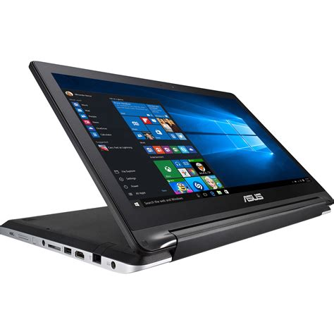 Asus Flip R554la Rh31t 15 6 Laptop Computer Black asus flip r554la 2 in 1 multi touch notebook r554la rh31t wx