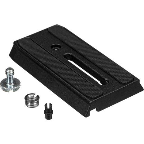 manfrotto plate manfrotto 501pl sliding release plate 501pl b h photo