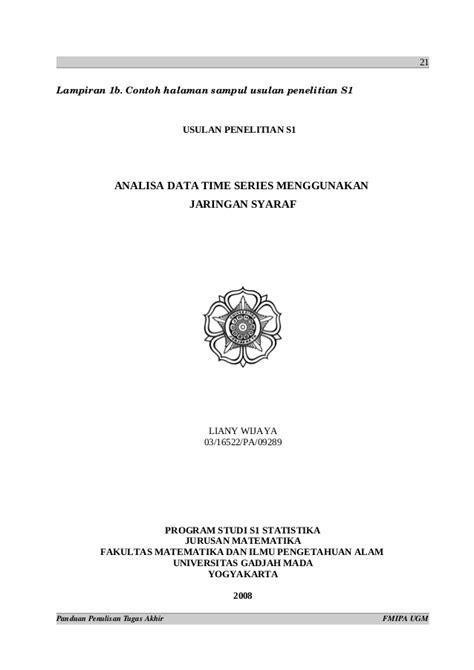 format cover cd skripsi ugm 179663989 format penulisan ta ugm