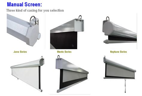 self locking projection screen in affordable price