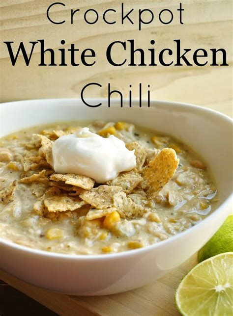 white chicken chili crockpot recipe crockpot white chicken chili house to new home