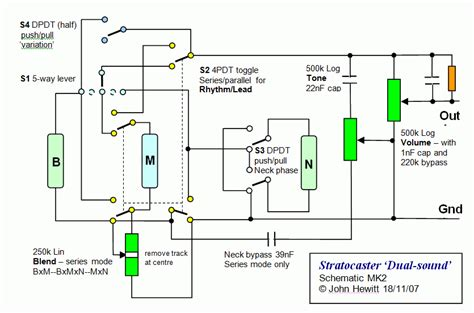Kit Tone Stereo Well 007s tone schematic tone by light elsavadorla