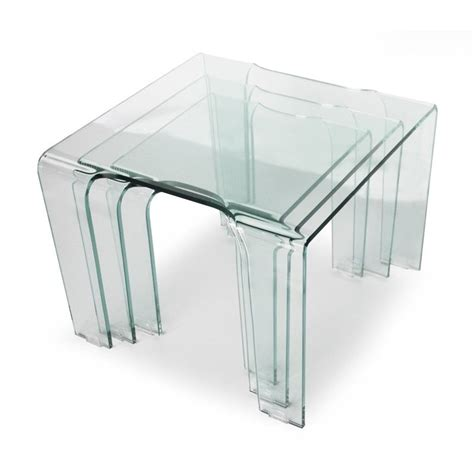 table basse gigogne en verre table gigogne en verre tank