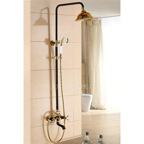 Bath Sets With Shower Curtains Sale Brass Vintage Two Handle Shower Faucet Antique Bronze