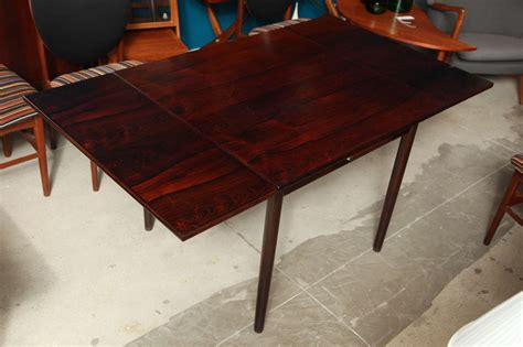 Square Rosewood Dining Table With Pull Out Leaves At 1stdibs Pull Dining Table