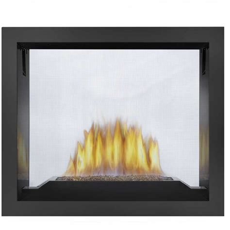 Vent Free See Through Gas Fireplace by Napoleon Hd81 See Thru Direct Vent Hi Def Gas Fireplace