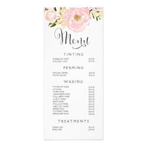 salon menu layout best 25 nail salon prices ideas on pinterest nail