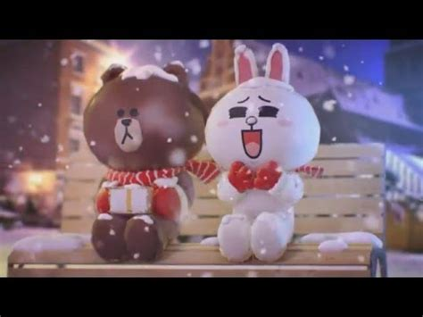 friends animation  christmas message  brown