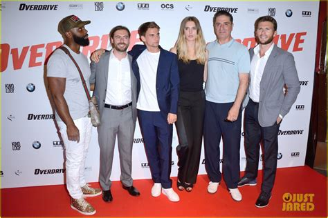 aktor film overdrive scott eastwood premieres his new movie overdrive in paris