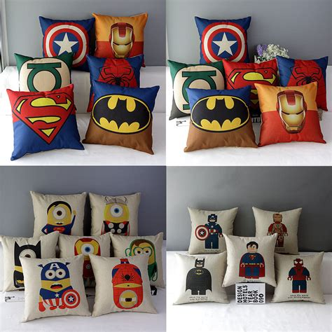 Marvel Heroes Decorative Artifacts by Pillow Reviews Shopping
