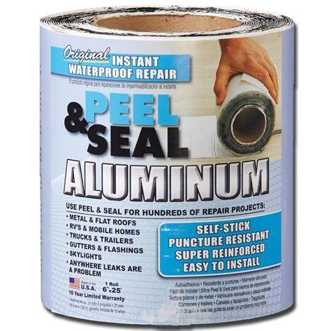 Peeling Spray Peeling Flashin shop peel seal instant waterproof repairs 6 in x 25 ft aluminum roll at lowes