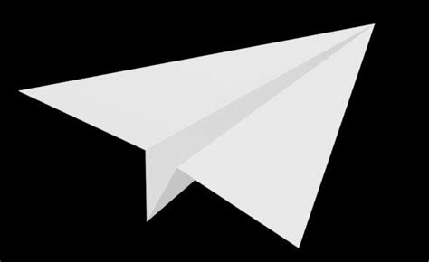 A Paper Airplane - how to make a paper plane