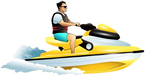 sea doo boat for water skiing jet ski clipart clipart suggest