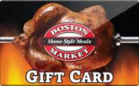 Boston Market Gift Card - cardbear gift card discounts comparison chart