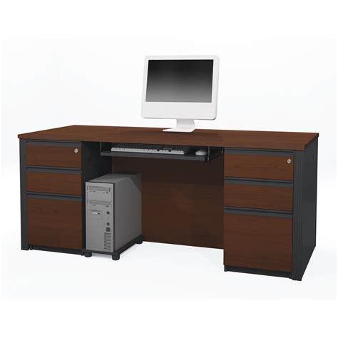 bestar desk assembly bestar prestige executive desk including assembled