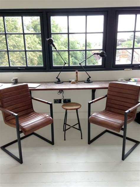 industrial office furniture industrial style office chairs mad about the house