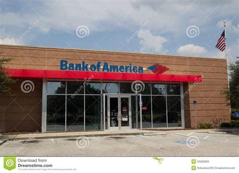 ba bank bank of america foto de archivo editorial imagen de
