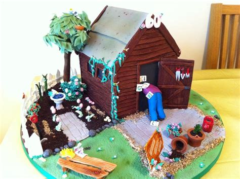 Shed Cakes by Garden Shed Cake By Ooh Cakes Cake Ideas