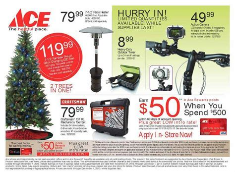 ace hardware flyer ace hardware black friday 2013 ad find the best ace