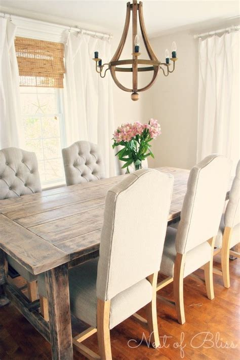 17 best ideas about rustic farmhouse table on