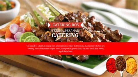 catering bos catering surabaya sidoarjo bandung
