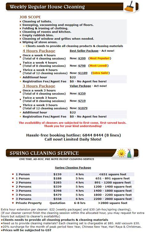 House Cleaning Services & Part Time Maid