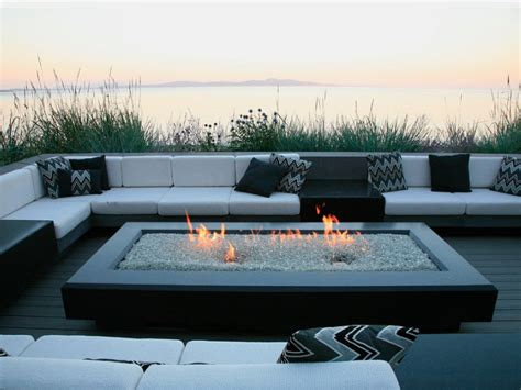 Rectangle Fire Pit - fire pit ideas 25 designs for your yard
