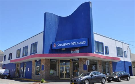sherwin williams paint store bridge yuba city ca california mid century modern buildings