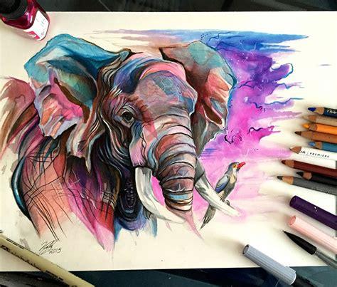 imagenes artisticas realistas las art 237 sticas ilustraciones de animales hechas con