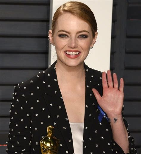emma stone tattoo 18 best tattoos of and that ll