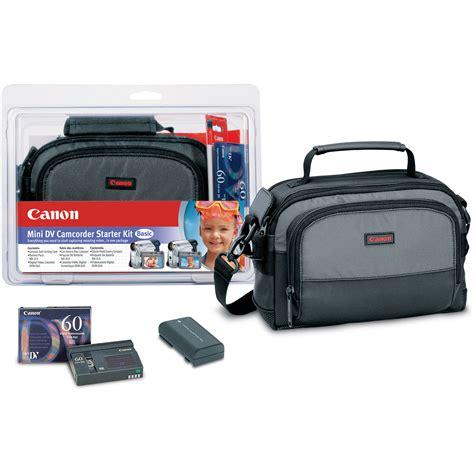Blueprint Canon Starter Pack canon minidv starter kit basic 1611b002 b h photo