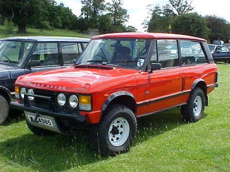 Adrian S Tomcat 100 Quot Standard 2 Door Range Rover