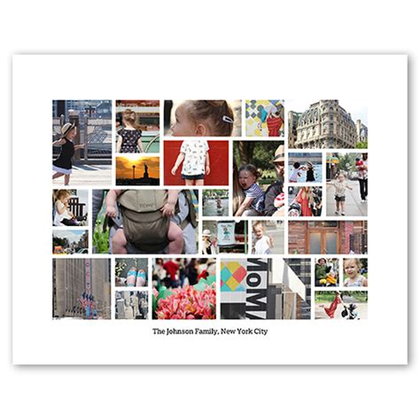 20x30 collage template snapshot gallery shutterfly