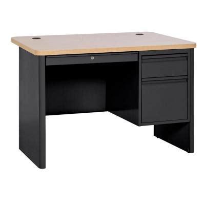nice home depot desks on sandusky desks 400 series double z line designs black finished belaire glass l desk zl1441